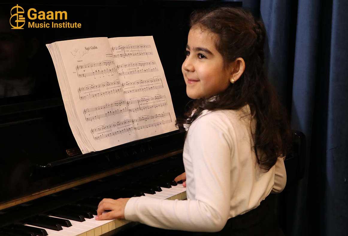 اموزش پیانو در کرج