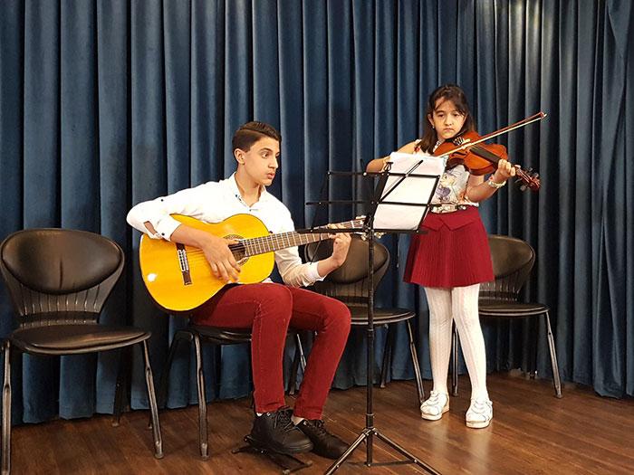 اجرای هنرجویان آموزشگاه موسیقی گام شهریور 97